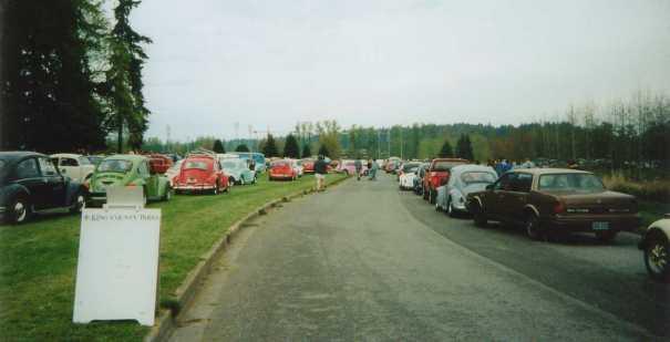 Beetle Reunion Parking