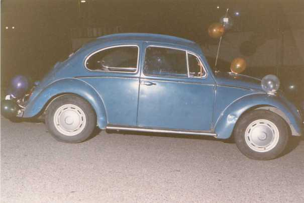 Our first car - 66 VW Bug